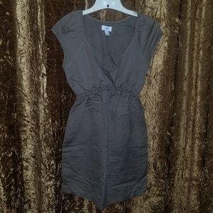 Ann Taylor Loft Army Green Mini Dress Size 4
